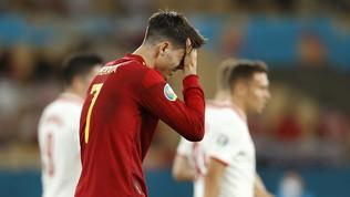 """Morata si sfoga: """"Minacce e insulti, augurata la morte ai miei figli"""""""