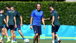 Italia, ultimo allenamento a Coverciano: si parte per Londra