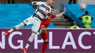 Lukaku vs Ronaldo: che sfida a Siviglia, le foto