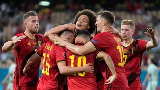 T. Hazard elimina il Portogallo: l'Italia trova il Belgio ai quarti