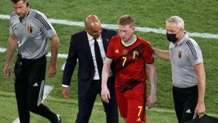 """Martinez: """"De Bruyne e Hazard con l'Italia? Al momento 50 e 50"""""""
