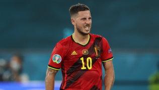 Belgio, De Bruynepuò recuperare. Per Hazard corsa contro il tempo