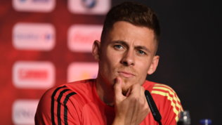"""Hazard jr: """"Vogliamo fermare l'Italia. Eden sta meglio, vuole esserci"""""""