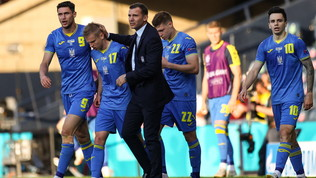 Svezia-Ucraina per i quarti: le foto del match