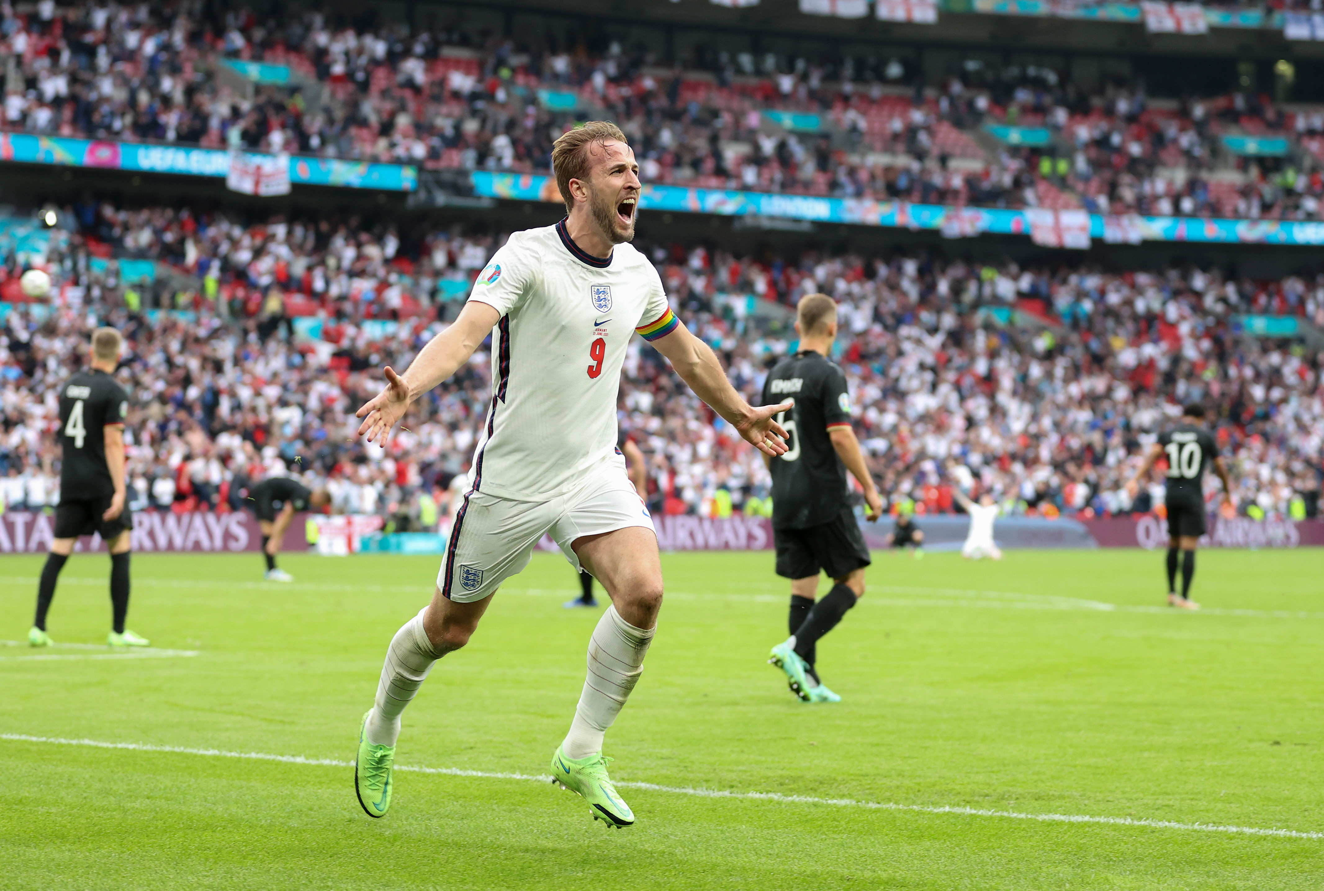 Harry Kane (Tottenham - Inghilterra) - Numeri da record in Premier League e la possibilità di prendersi una nazione sulle spalle a suon di gol