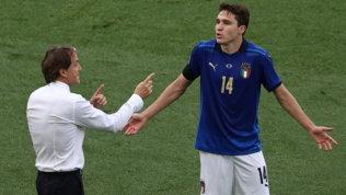 Italia, contro Lukaku per un'altra notte magica: Mancini sceglie Chiesa
