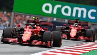 """Leclerc: """"Dubbi sulle gomme"""". Sainz: """"Staremo più indietro"""""""