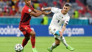 Belgio-Italia, le immagini del match