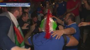 Monaco si tinge d'azzurro dopo la vittoria