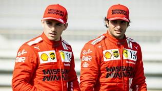 """Leclerc: """"Ce l'aspettavamo"""". Sainz: """"Sei millesimi amari"""""""