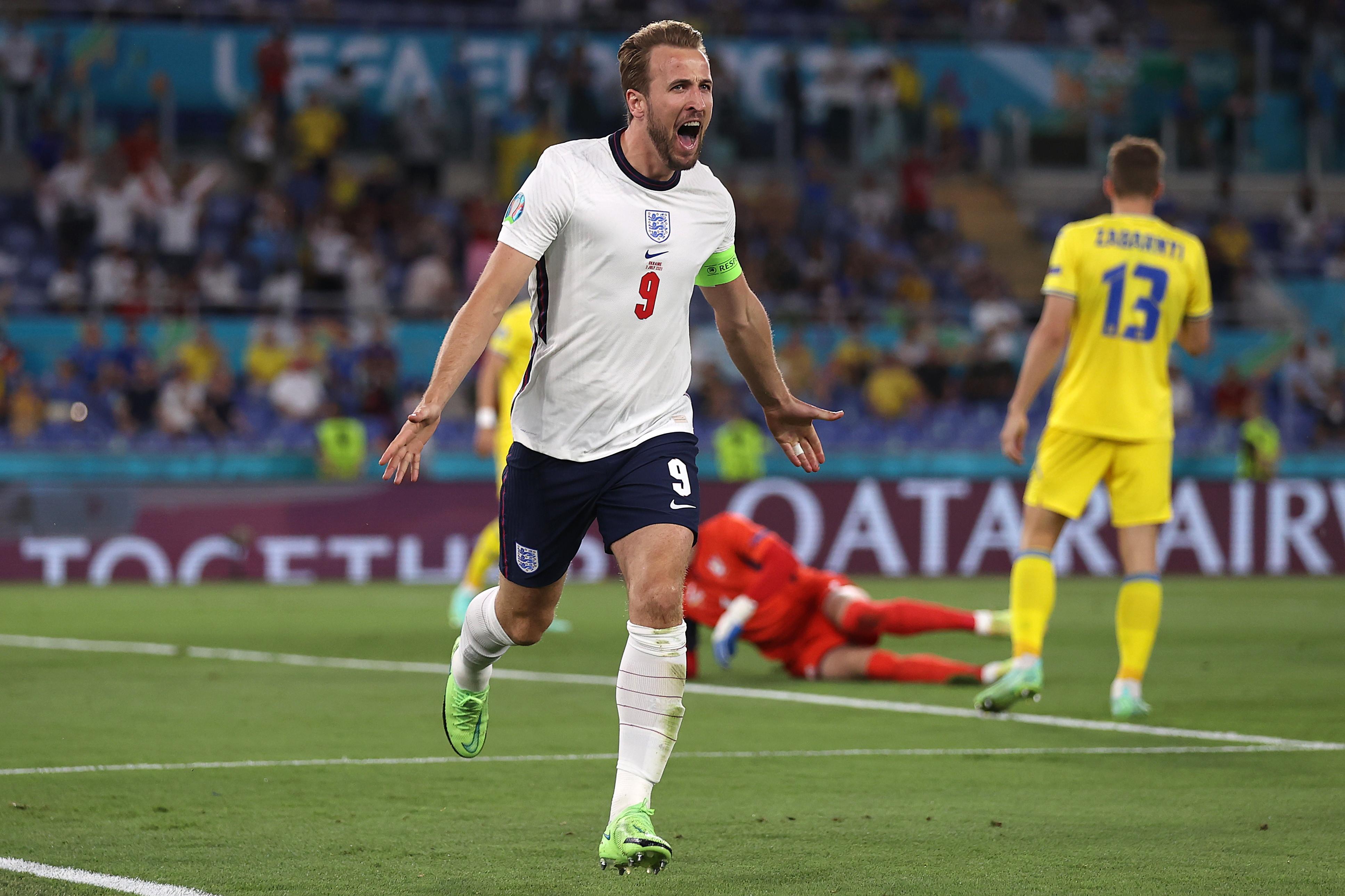 I migliori scatti di Ucraina-Inghilterra 0-4<br /><br />
