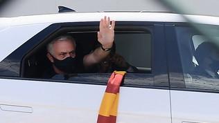 """Mou: """"Spinazzola, terribile per l'Italia ma anche per la mia Roma"""""""