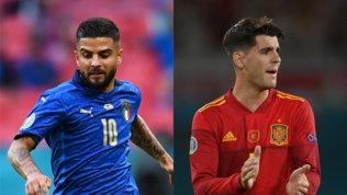 Italia-Spagna, un classico agli Europei: l'ultima volta 2-0 azzurro