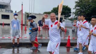 """Zico porta la fiaccola olimpica: """"Giornata indimenticabile"""""""