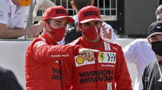 """Sainz: """"Gara divertente, rimonta super"""". Leclerc: """"Perez troppo aggressivo"""""""