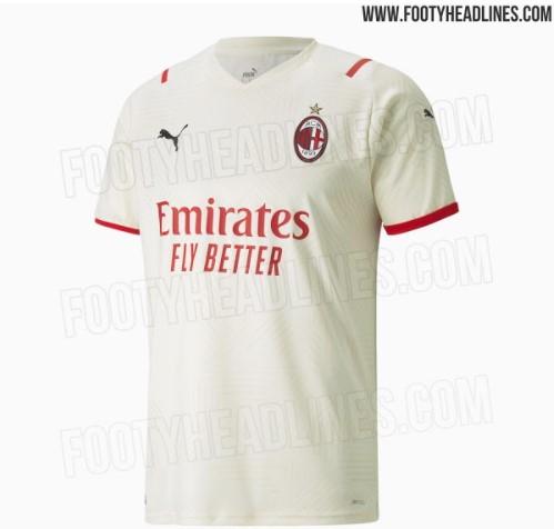Milan, seconda maglia 2021-22: ecco le anticipazioni | Foto ...