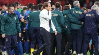 """Mancini: """"Partita durissima. Recuperare le forze, c'è una finale da vincere"""""""