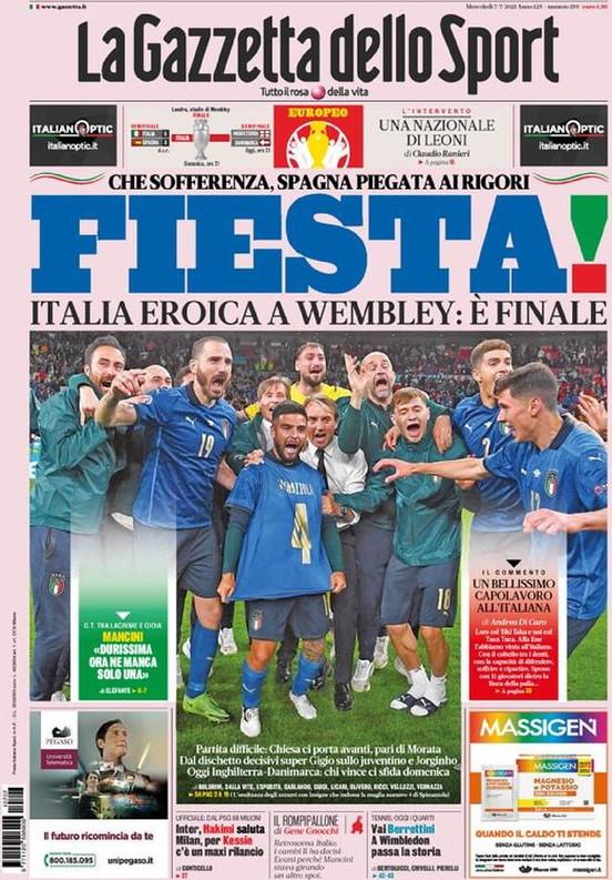 Le prime pagine, e non solo, dei quotidiani italiani ed esteri in edicola oggi<br /><br />