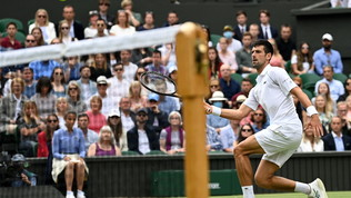 Djokovic regola Fucsovicse va in semifinale | Federereliminato daHurkacz!