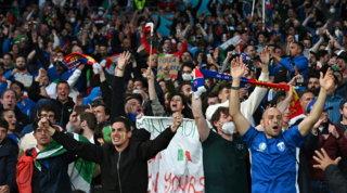 Wembley un po' più azzurro: 1000 italiani in trasferta per la finale