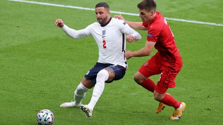 Inghilterra-Danimarca, le immagini del match