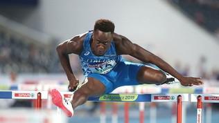 Fofana vince i 110 ostacoli a Trieste