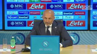 """Spalletti: """"Napoli, San Gennaro, Maradona, Insigne, Totti..."""""""