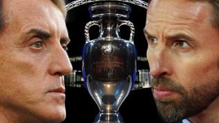Italia mai ko con l'Inghilterra nei grandi tornei. Wembley fortino inglese, ma...