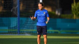 """Mancini: """"Bravi i ragazzi a crederci, con l'Inghilterra bella finale"""""""