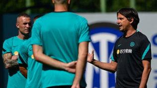 Simone Inzaghi testa l'Inter: primi allenamenti ad Appiano Gentile