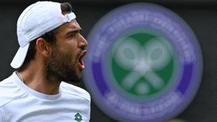 Berrettini in finale a Wimbledon