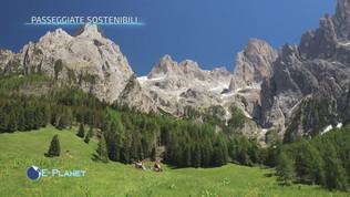 Passeggiate sostenibili sulle Dolomiti