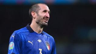"""Chiellini: """"Con l'Inghilterra servirà cuore caldo e mente fredda. Kaneincredibile"""""""