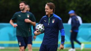 Italia, countdown per la finale: rifinitura nel centro sportivo del TottenhamFOTO