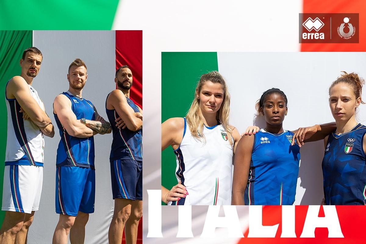 Eleganza e ricercatezza per il volley italiano ai Giochi olimpici di Tokyo.&nbsp;Per la nazionale maschile, femminile e di sitting volley, Erre&agrave; Sport punta sull&rsquo;orgoglio azzurro e tutto il prestigio del tricolore<br /><br />
