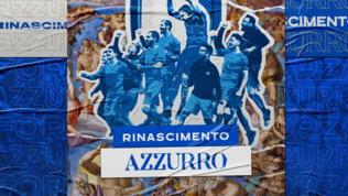 """La Nazionale festeggia anche sui social: """"Rinascimento azzurro"""""""