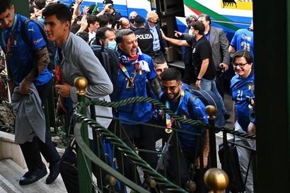 Gli azzurri sono arrivati questa mattina a Fiumicino<br /><br />