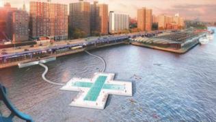 +Pool, la piscina-filtro per nuotare all'ombra dei grattacieli
