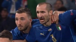"""""""Kiricocho!""""Così Chiellini oltre a Kane ha fermato anche Saka"""