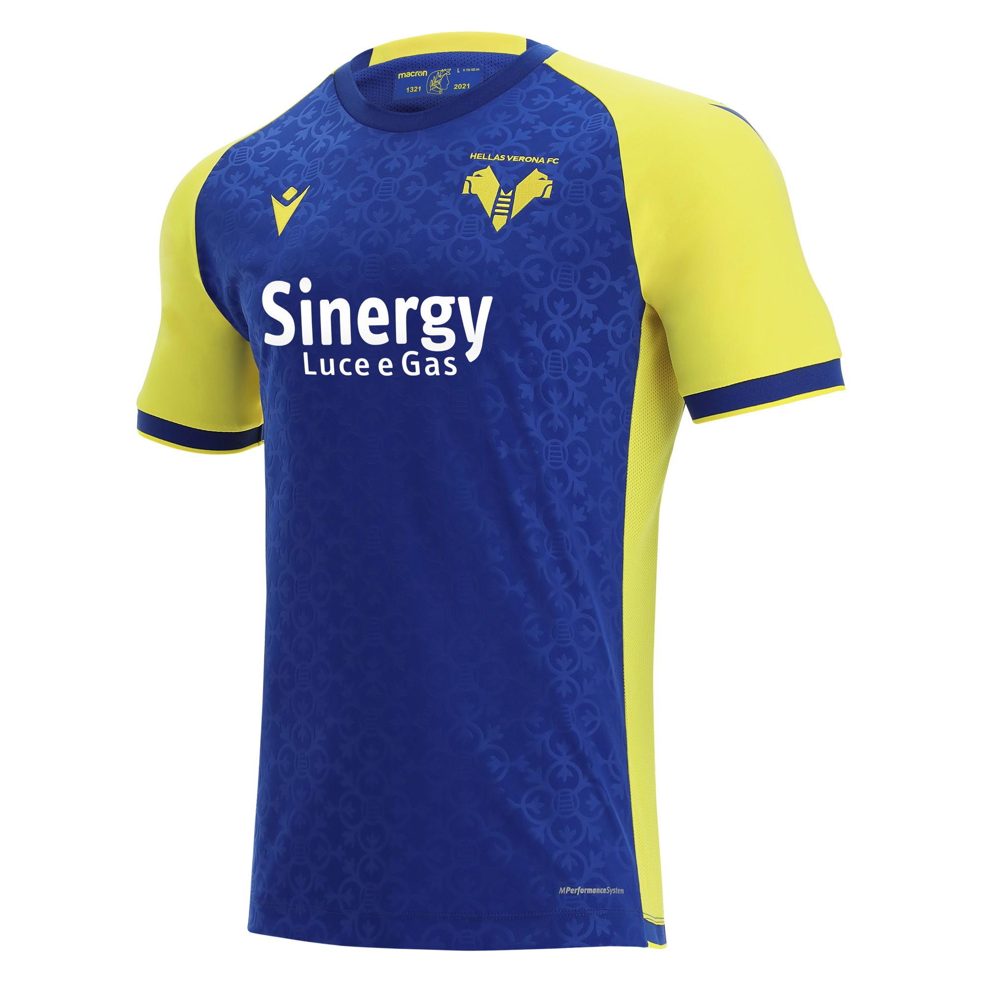 Verona: prima maglia