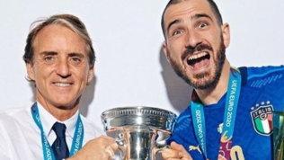 """Bonucci ringrazia Mancini: """"Hai messo d'accordo 60 milioni di allenatori"""""""