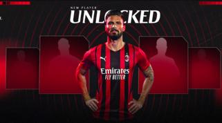 Milan-Giroud, ora è ufficiale: indosserà la maglia numero 9
