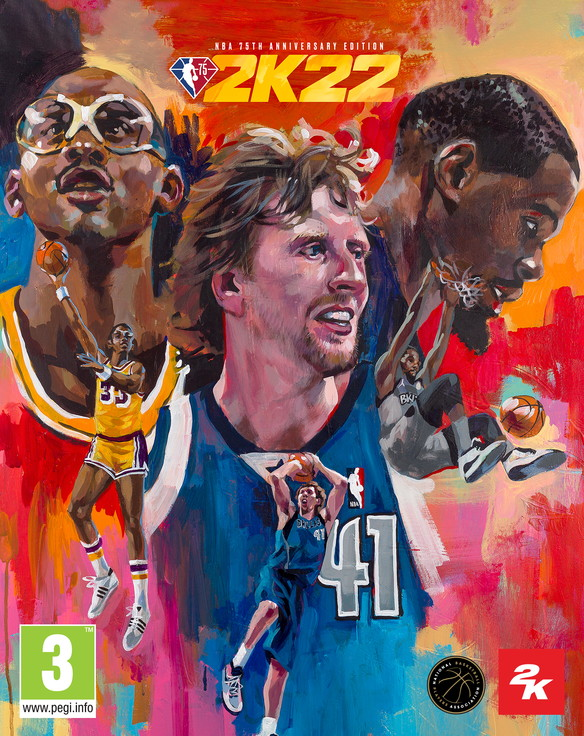 2K ha annunciato gli atleti di copertina per NBA&nbsp;2K22. Luka Dončić, fenomeno globale e 2 volte NBA All-Star, sar&agrave; sulla Standard Edition,mentre per la NBA 75th Anniversary Edition sono stati scelti: Kareem Abdul-Jabbar, Dirk Nowitzki e Kevin Durant. NBA 2K22 uscir&agrave; il 10 settembre 2021.&nbsp;Con la migliore veste grafica di sempre ed una IA dei giocatori ulteriormente migliorata, squadre storiche e un&#39;ampia variet&agrave; di esperienze di gioco, NBA 2K22 mette l&#39;intero universo del basket nelle mani del giocatore.&nbsp;NBA 2K22 sar&agrave; disponibile in due versioni, Standard Edition e NBA 75th Anniversary Edition per: PlayStation 5, PlayStation 4, Xbox Series X S, Xbox One, Nintendo Switch e PC.<br /><br />