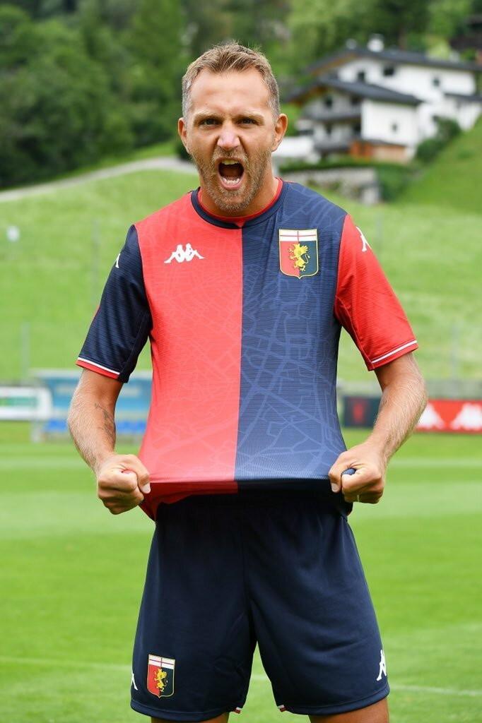 Genoa: prima maglia