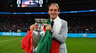"""Mancini: """"Italia nei libri di storia, bella sensazione essere campione"""""""