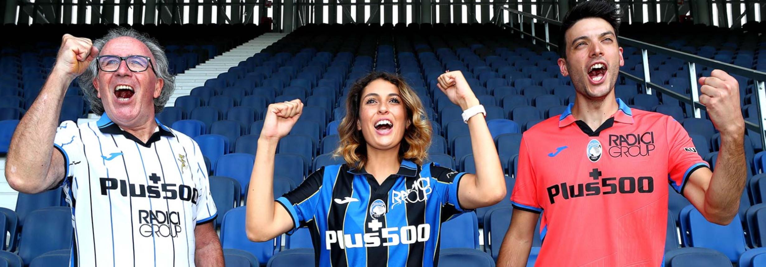Atalanta, ecco le maglie per la nuova stagione | Foto - Sportmediaset