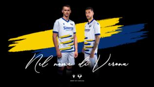 L'Hellas Verona si  tinge  di bianco e con Dante nel cuore