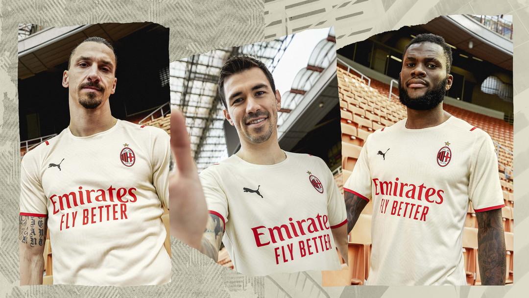 PUMA ha presentato oggi il nuovo Away Kit di AC <strong>Milan</strong> che sar&agrave; indossato dalle squadre maschili, femminili e giovanili per tutta la stagione calcistica 2021/22. Lo speciale golden kit celebra l&rsquo;operato dell&rsquo;ente benefico di AC Milan attraverso la scritta &ldquo;<strong>Fondazione Milan</strong>&rdquo; stampata sotto il colletto sul retro della maglia. La nuova maglia Away &egrave; resa unica da un caratteristico pattern all-over ispirato dalle sei citt&agrave; coinvolte in un&rsquo;iniziativa di beneficenza, il cui lancio ufficiale &egrave; previsto a Settembre. L&rsquo;iniziativa &ldquo;<strong>From Milan to the World</strong>&rdquo;, ideata da Fondazione Milan in partnership con PUMA, dar&agrave; la possibilit&agrave; ai tifosi rossoneri di tutto il mondo di votare per sostenere uno dei sei progetti socio-educativi proposti, sviluppati al fianco di organizzazioni no profit locali e internazionali in altrettante citt&agrave;. Il risultato finale dell&rsquo;iniziativa prevede lo sviluppo del programma selezionato, legato ad una delle sei citt&agrave; coinvolte: New York (USA), Rio de Janeiro (Brasile), Kolkata (India), Melbourne (Australia), Nairobi (Kenya) e Milano (Italia).<br /><br />