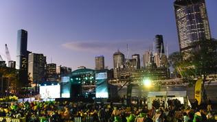 I Giochi tornano in Australia, Brisbane in festa