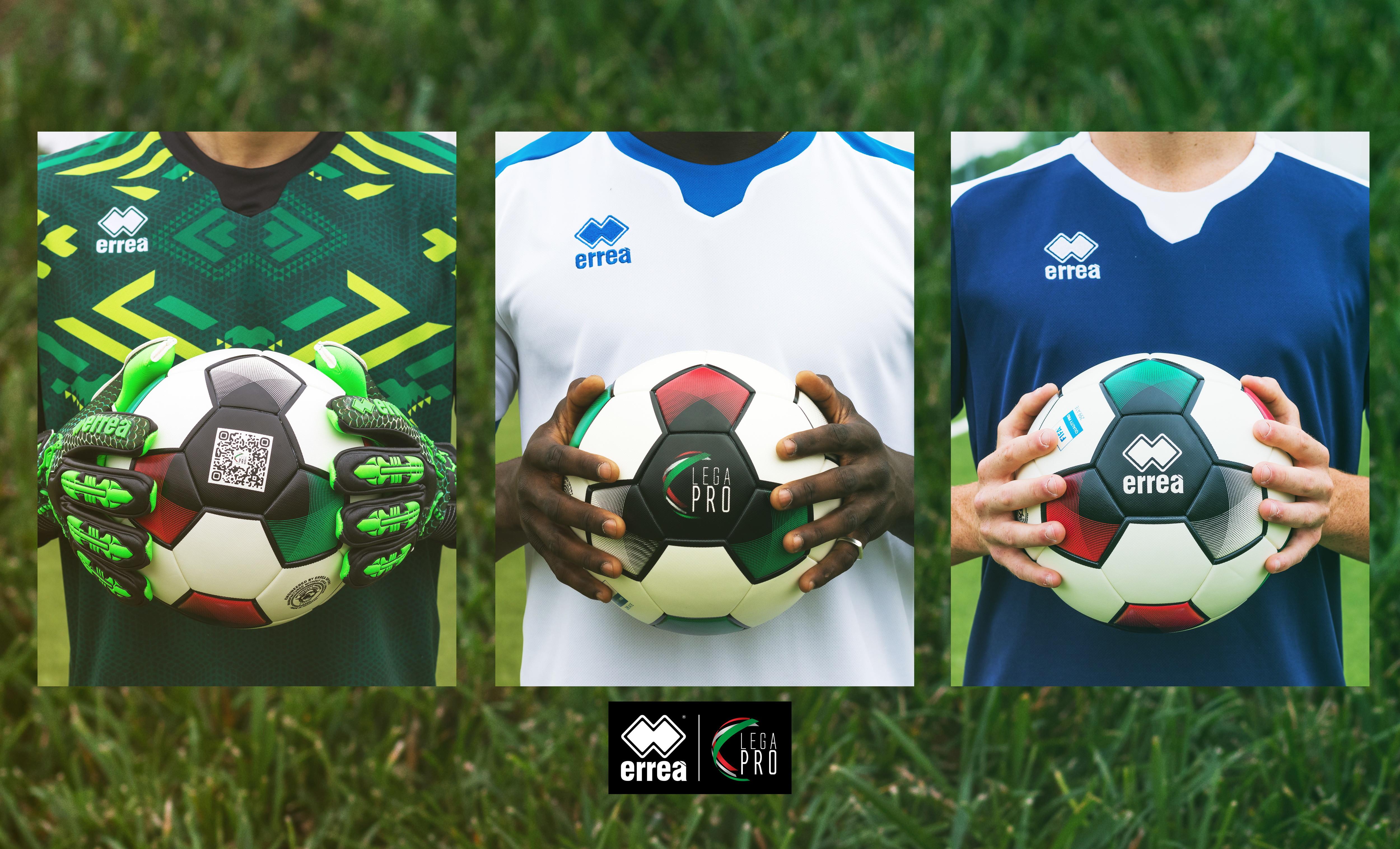 Ecco il nuovo pallone realizzato da Erre&agrave; per la prossima stagione di Lega Pro<br /><br />